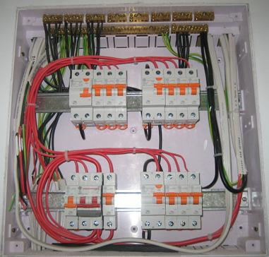 щит электроснабжения