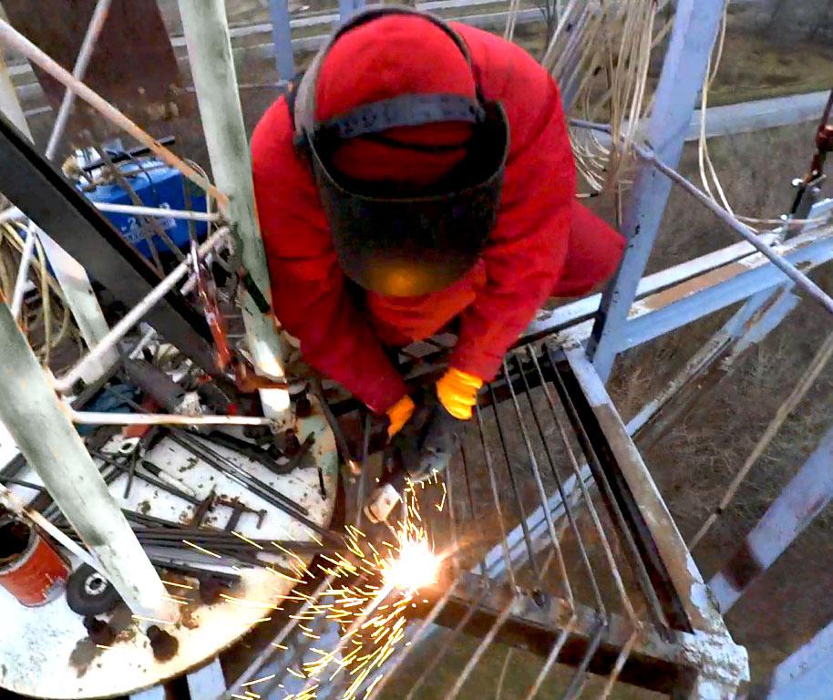 Зварювання металоконструкції