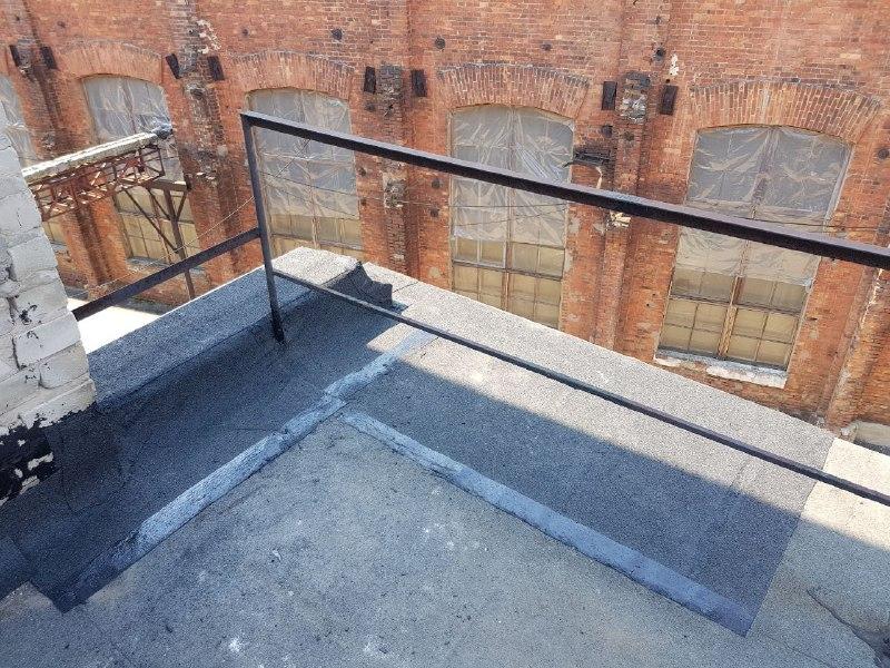 Восстановление повреждённой плиты на высоте_1 фото
