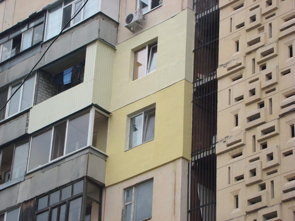 Фото утепления по ул. Академика Богомольца Харьков