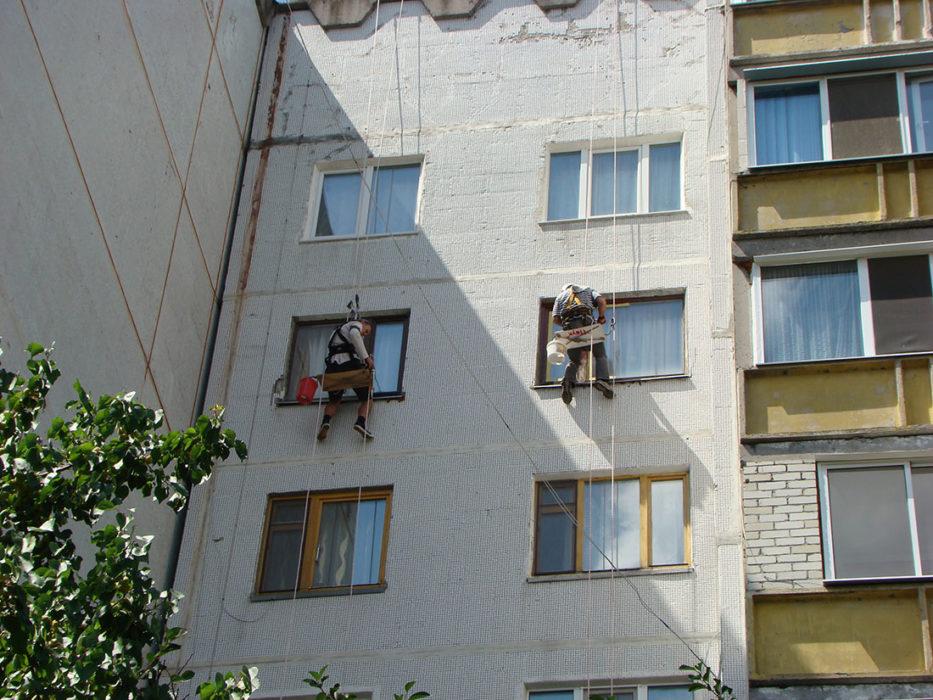 Обустройство откосов ул. Светлая, 11А