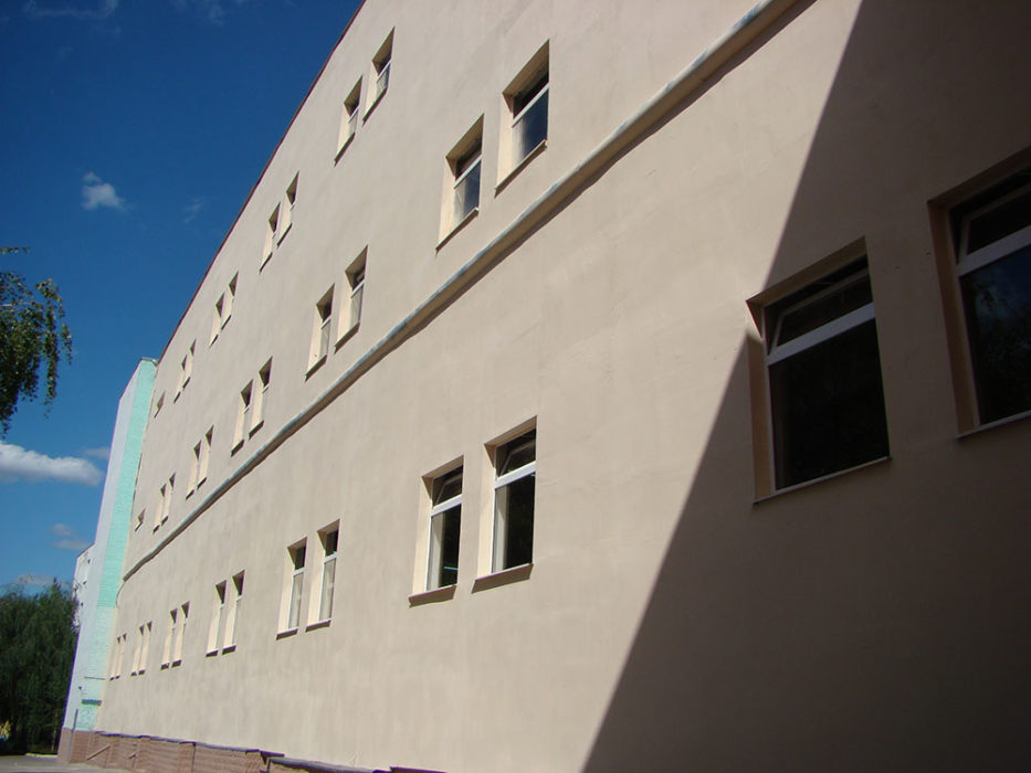 Thermal insulation of facade