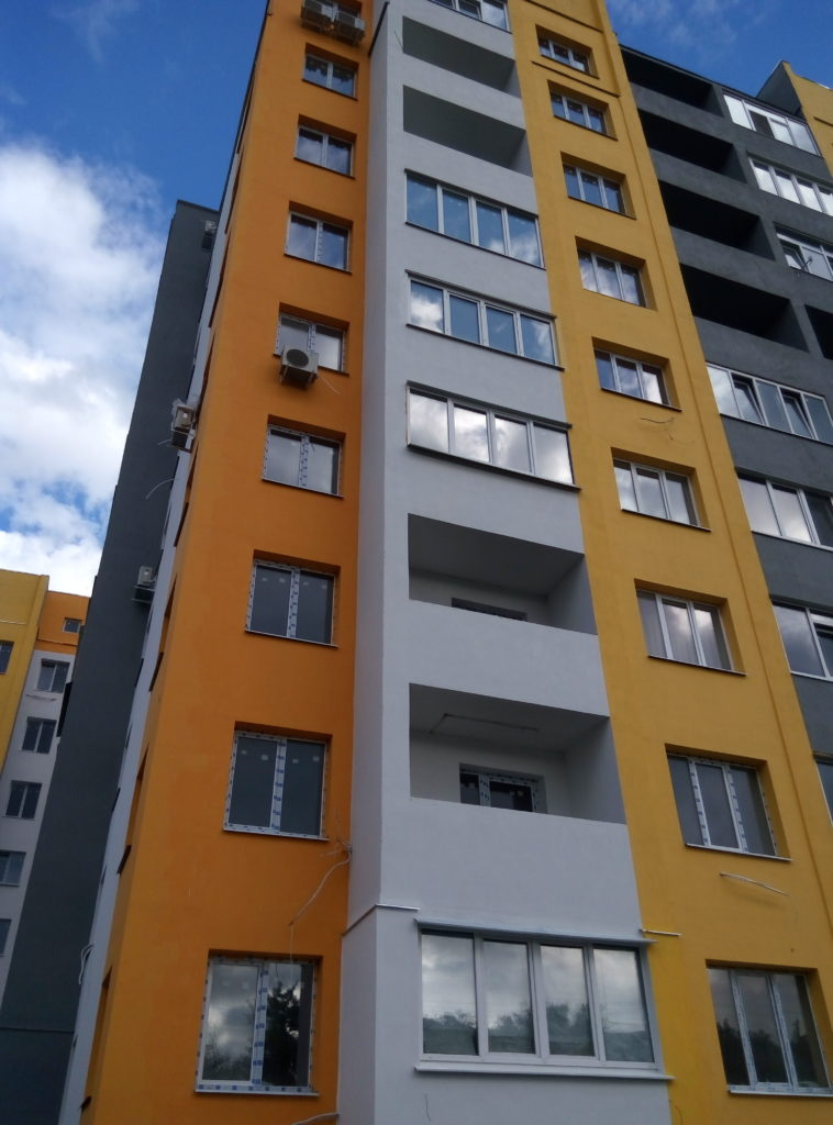 Фото утепления фасадов Харьков