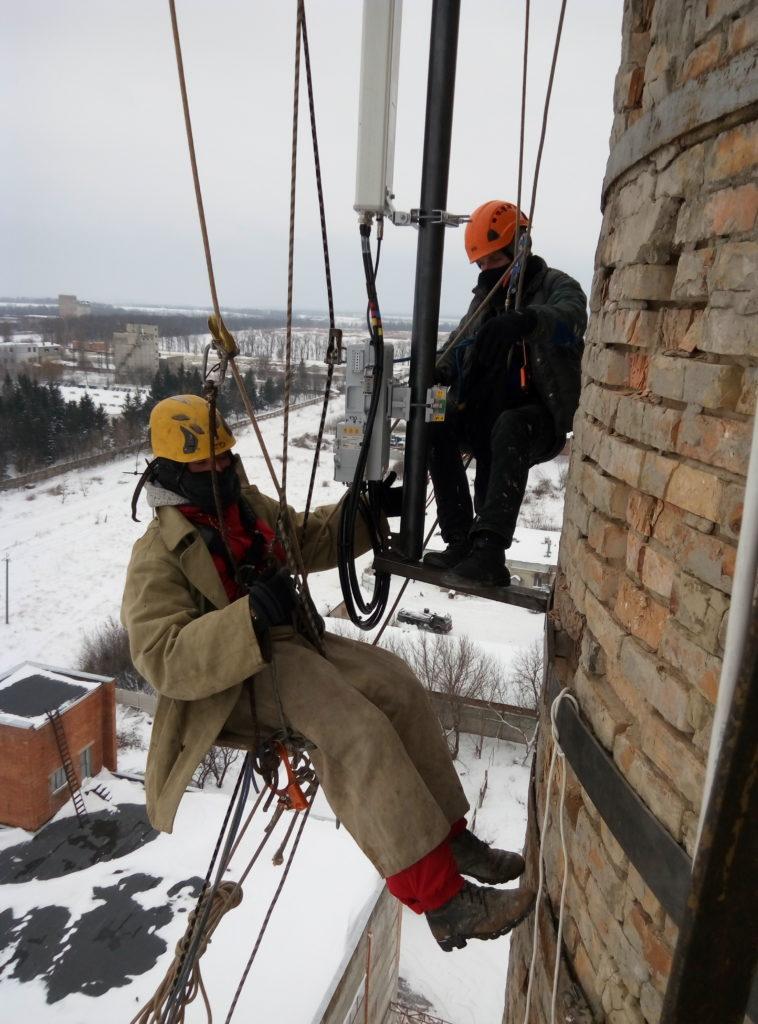 Промышленный альпинизм в Харькове фото