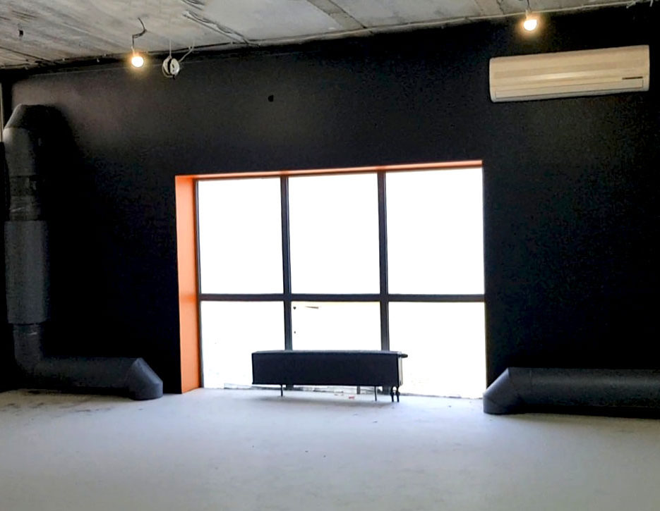 Фото покраски стен специалистами СК Паук