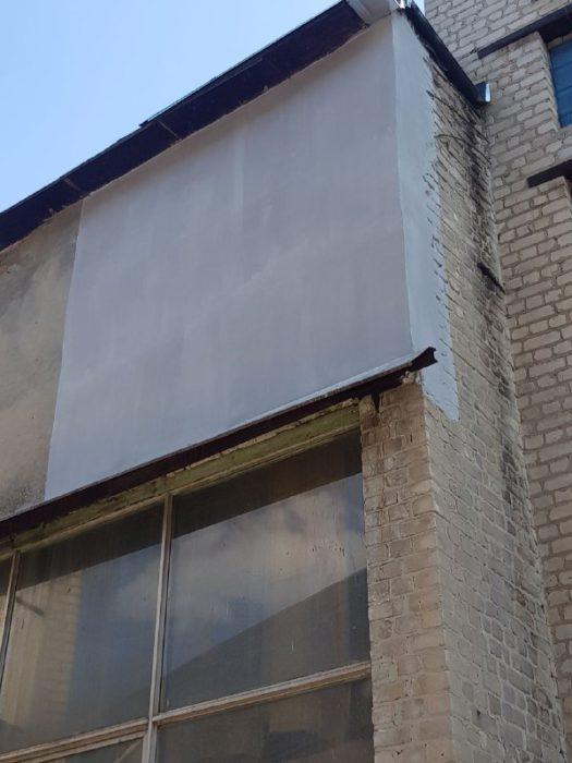 фото восстановления повреждённой плиты