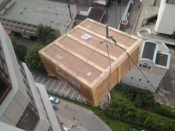 Подъём негабаритных грузов Харьков