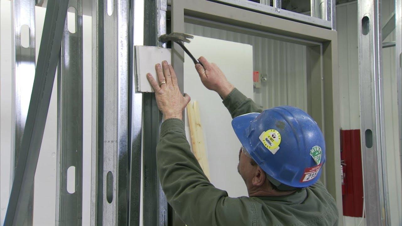 The process of strengthening the doorway