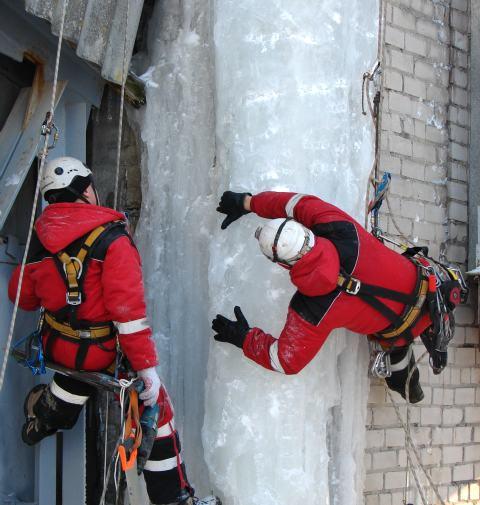 картинка Очистка крыш ото льда  Харьков